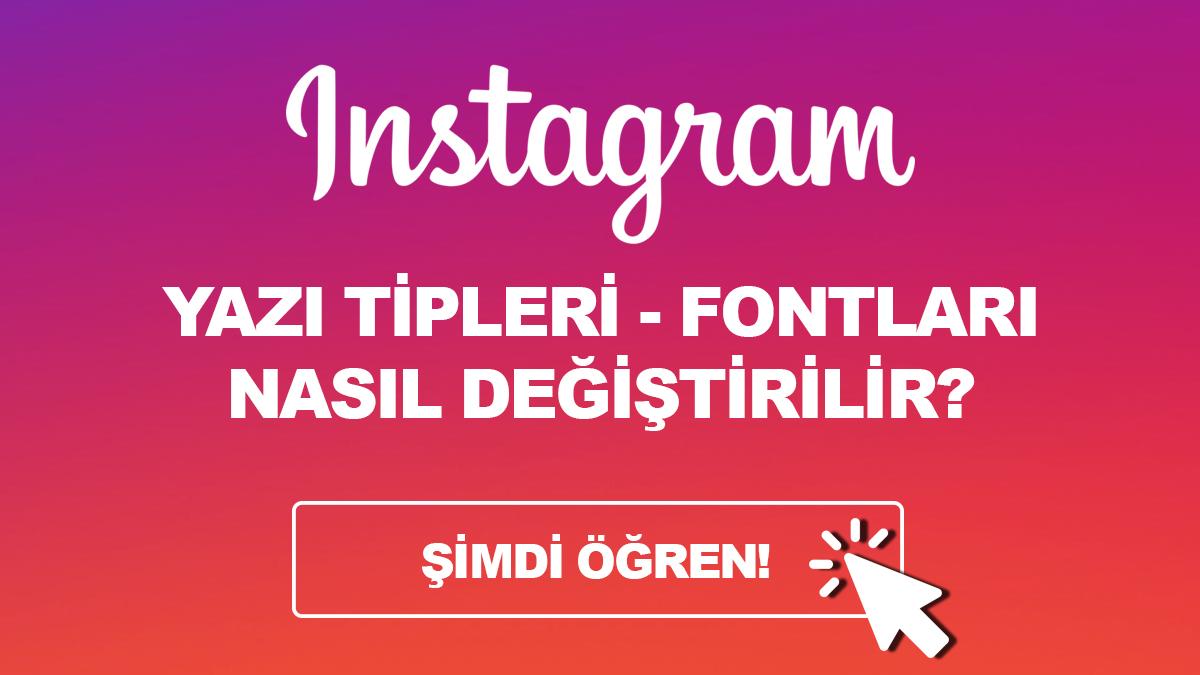 instagram yazi tipleri ve fontlari